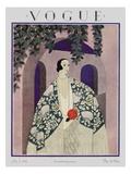 Vogue Cover - July 1924 Giclée premium par Harriet Meserole