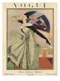 Vogue Cover - April 1923 Giclée premium par George Wolfe Plank