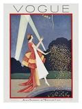 Vogue Cover - May 1926 Giclée premium par George Wolfe Plank