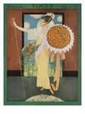 Vogue Cover - May 1914 Giclée premium par George Wolfe Plank