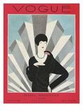 Vogue Cover - March 1927 Giclée premium par Harriet Meserole