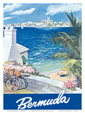 Bermuda Travel Poster c1950s