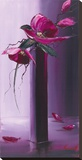 Elegance En Mauve II Tableau sur toile par Olivier Tramoni