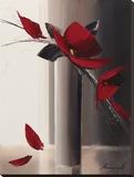 Bouquet Rouge I Tableau sur toile par Olivier Tramoni