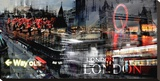 London Way Out Tableau sur toile par Braun