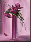 Bouquet Violet I Tableau sur toile par Olivier Tramoni