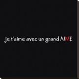 Un Grand M Tableau sur toile par Audrey & Fabrice Cilpa