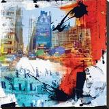 8 éme Rue Tableau sur toile par Vincent Gachaga
