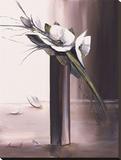 Bouquet Blanc II Tableau sur toile par Olivier Tramoni