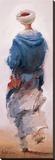 Bédouin Bleu Tableau sur toile par Yann Letestu