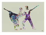 Ballet Watercolor 2