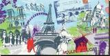 Moulin rouge Tableau sur toile par Farkas