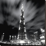 Burj Khalifa, Dubai Tableau sur toile par Marcin Stawiarz