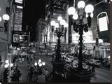 42Nd Street At Night Tableau sur toile par Michel Setboun