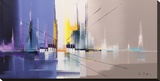 Langs De Vaart Tableau sur toile par Luc Drappier