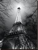 Sa Majesté La Tour Eiffel Tableau sur toile par Antoine Carrara