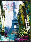 Magique EiffelFds Tableau sur toile par Kaly