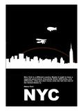 New York Night Poster