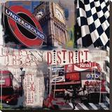 Métro de Londres Tableau sur toile par Vincent Gachaga