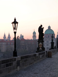 Charles Bridge  UNESCO World Heritage Site  Old Town  Prague  Czech Republic  Europe