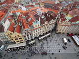 Old Town Square  UNESCO World Heritage Site  Prague  Czech Republic  Europe