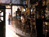 Inside the Crown Bar in Belfast