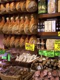 Butchers Shop  Parma  Emilia-Romagna  Italy  Europe