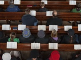 A Midweek Prayer Meeting in the Church of Scotland