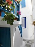 Mykonos Town  Mykonos  Cyclades Islands  Greek Islands  Greece  Europe