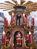 The Annual Frankfurt Christmas Market  Birmingham  West Midlands  England  United Kingdom  Europe