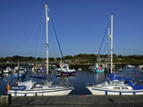 Old Town Quay  Lymington  Hampshire  England  United Kingdom  Europe