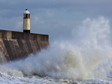 Harbour Light  Porthcawl  South Wales  Wales  United Kingdom  Europe