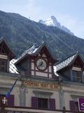 The Train Station  Chamonix  Haute Savoie  French Alps  France  Europe