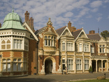 The Mansion  Bletchley Park  the World War Ii Code-Breaking Centre  Buckinghamshire  England  Unite