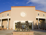State Capitol Building  Santa Fe  New Mexico  United States of America  North America