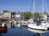 Yachts  the Barbican  Plymouth  Devon  England  United Kingdom  Europe