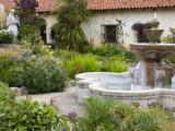 Fountain at Mission San Carlos Borromeo  Carmel-By-The-Sea  Monterey County  California  United Sta