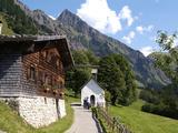 Gerstruben Near Oberstdorf and Mount Hoefats  Allgau  Bavaria  Germany  Europe