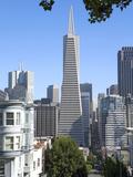 Trans America Building, San Francisco, California, United States of America, North America Papier Photo par Gavin Hellier