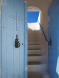 Church Entrance  Chania  Crete  Greek Islands  Greece  Europe