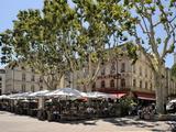 Alfresco Restaurants  Place De L'Horloge  Avignon  Provence  France  Europe