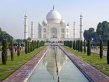 Taj Mahal  UNESCO World Heritage Site  Agra  Uttar Pradesh State  India  Asia