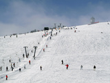 Winter Sports at Feldberg  Black Forest  Baden-Wurttemberg  Germany  Europe