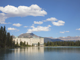 The Fairmont Chateau Lake Louise Hotel  Lake Louise  Banff National Park  UNESCO World Heritage Sit