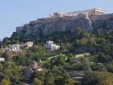 The Acropolis from Ancient Agora  UNESCO World Heritage Site  Athens  Greece  Europe