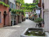 Konvikstravue  Old Town  Freiburg  Baden-Wurttemberg  Germany  Europe