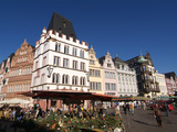 Market Square  Old Town  Trier  Rhineland-Palatinate  Germany  Europe