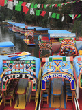 Brightly Painted Boats  Xochimilco  Trajinera  Floating Gardens  Canals  UNESCO World Heritage Site