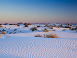 White Sands National Monument  New Mexico  United States of America  North America