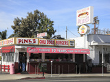 Pinks Hot Dogs  an La Institution  La Brea Boulevard  Hollywood  Los Angeles  California  United St